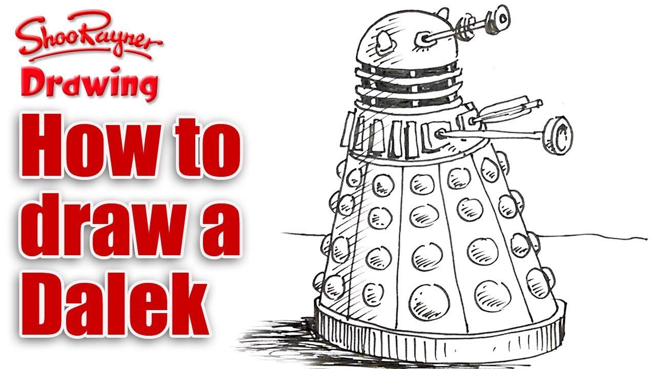 1280x720 How To Draw A Dalek