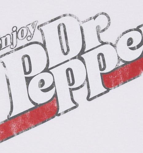 466x500 Men's Vintage Dr Pepper Logo Ringer T Shirt