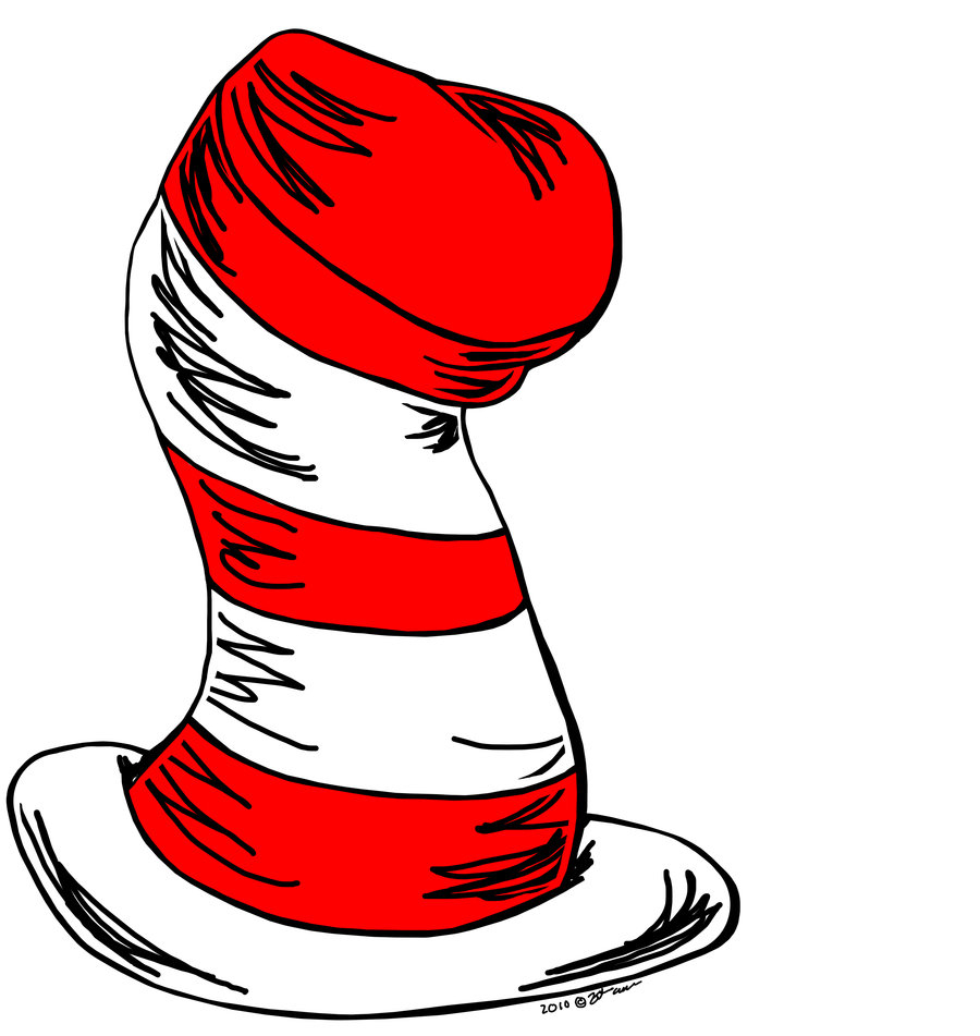 Dr Seuss Hat Drawing at GetDrawings.com | Free for personal use Dr ...