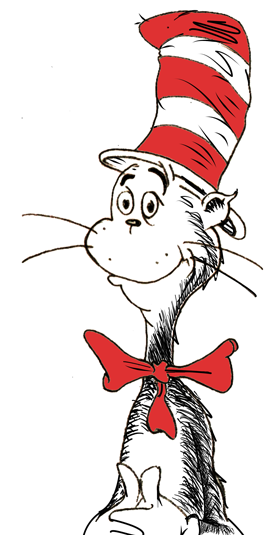 280x535 How To Draw The Cat In The Hat By Dr. Seuss Drawing Tutorial