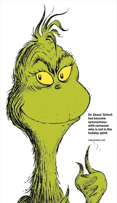 400x694 Dr. Suess' The Grinch Stole My Slice Of The Apple