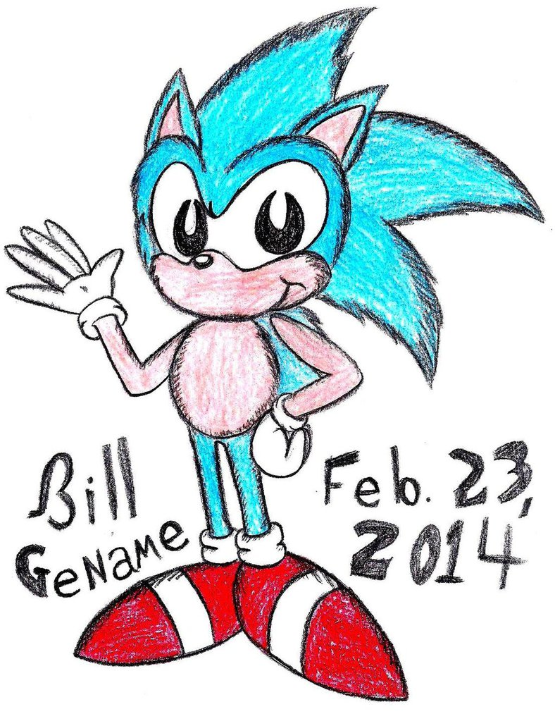788x1013 How Dr. Seuss Might Draw Sonic By Germanname