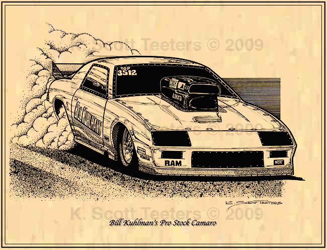 650x497 Drag Racing Drawings