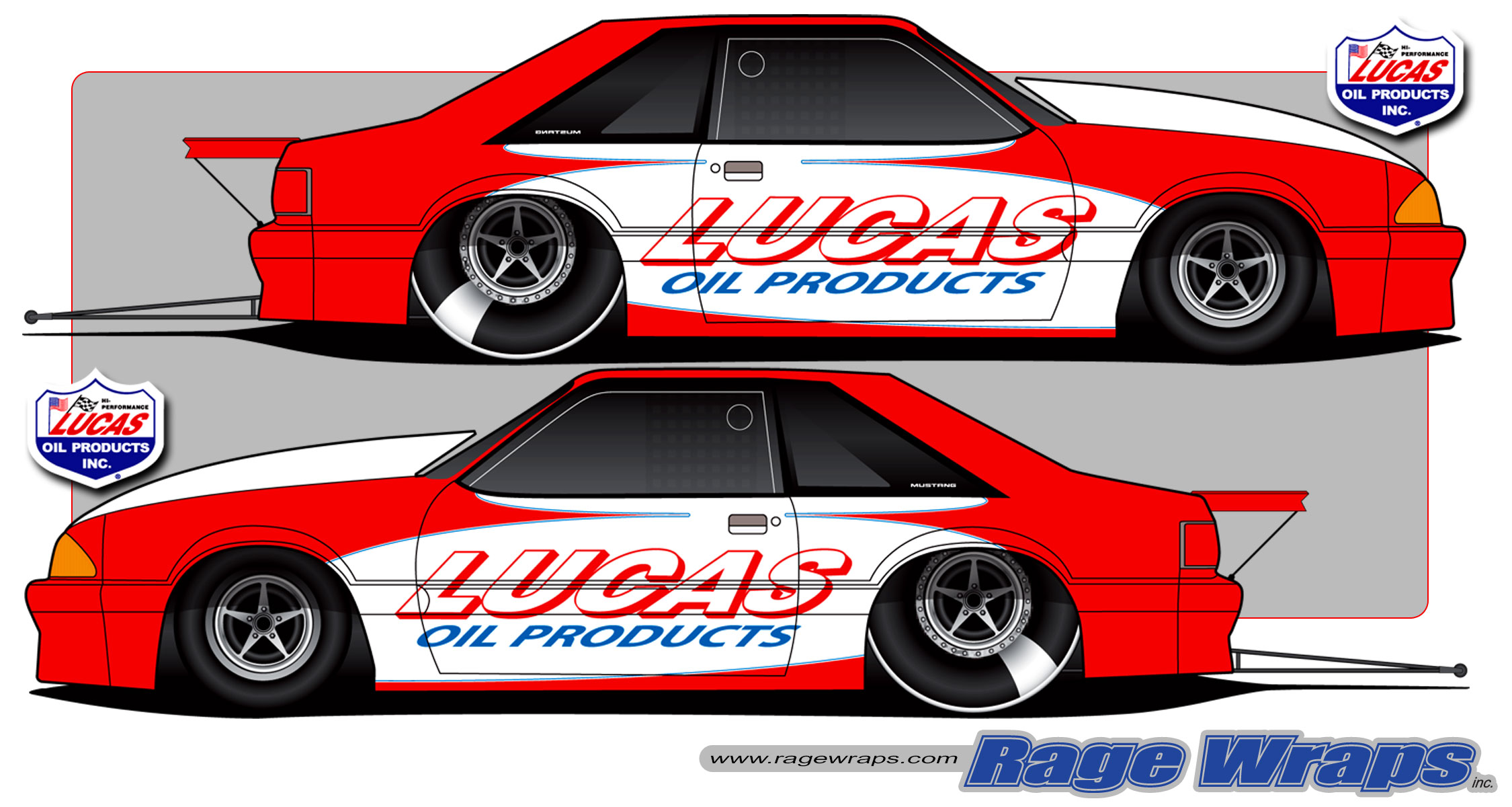2250x1200 Drag Racing Graphic Art