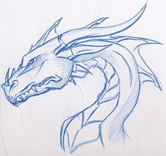 236x221 Como Dibujar Dragones Paso A Paso Dragons, Draw And Drawing Art