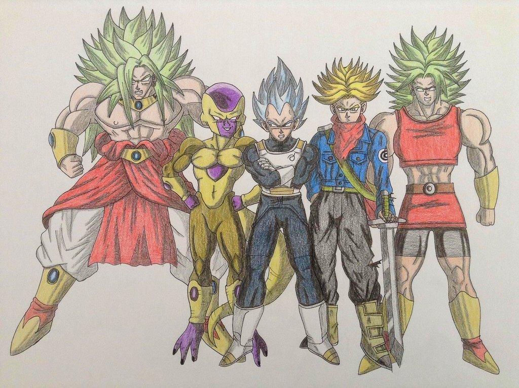 1024x765 Dragon Ball Drawing