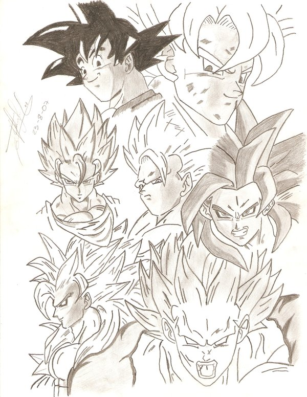 600x776 Dragon Ball Z And Gt