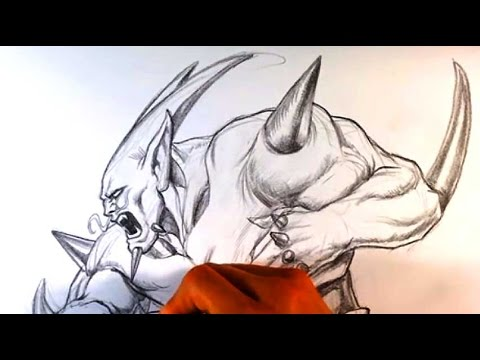 480x360 How To Draw Omega Shenron From Dragonball Gt
