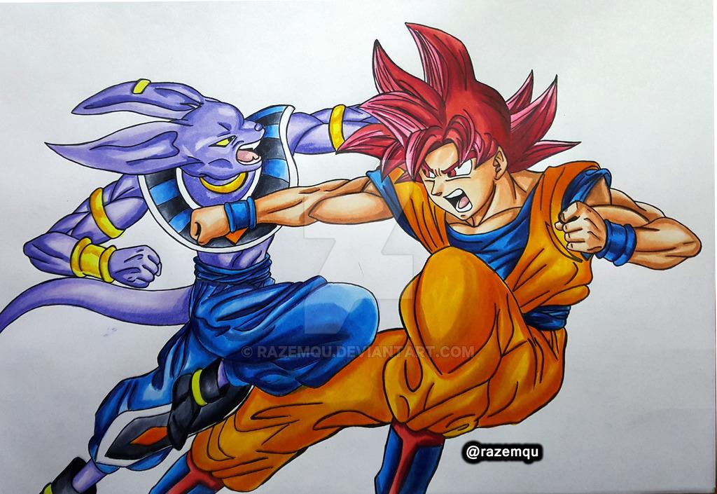 Dragon Ball Super Drawing At Getdrawings Free Download