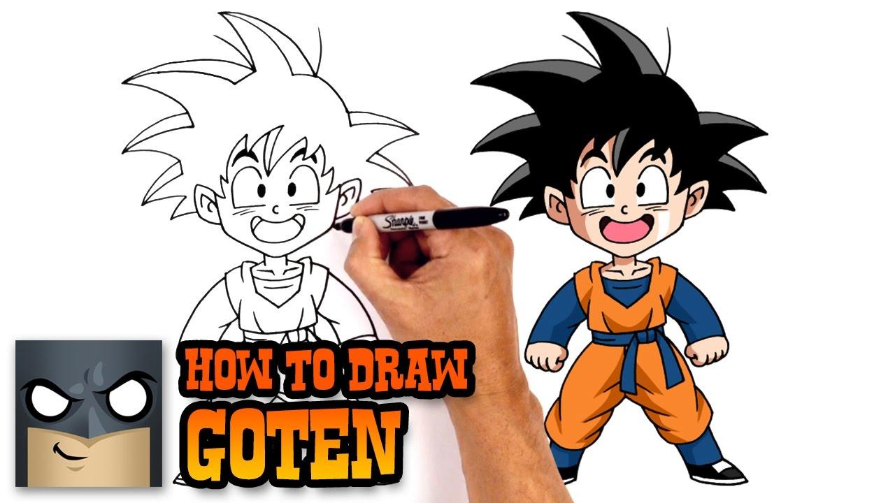 1280x720 How To Draw Goten Dragon Ball Z