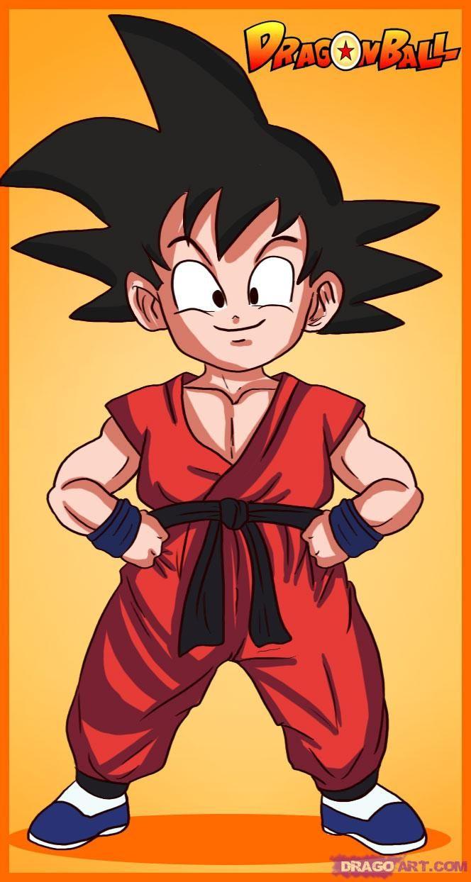 664x1244 Dragon Ball Son Goku