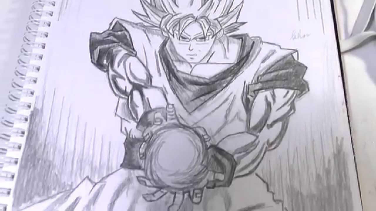 1280x720 Dragon Ball Z Goku Speed Drawing Z
