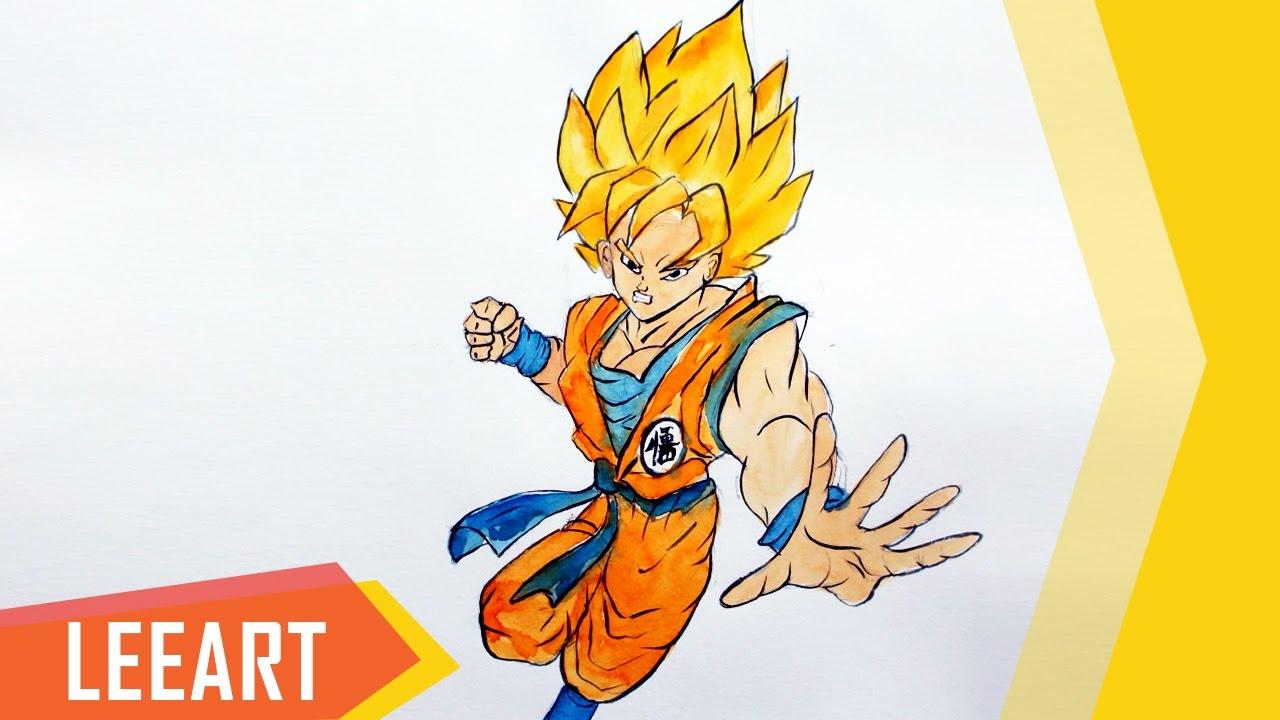 1280x720 Drawing Dragon Ball Z Characters