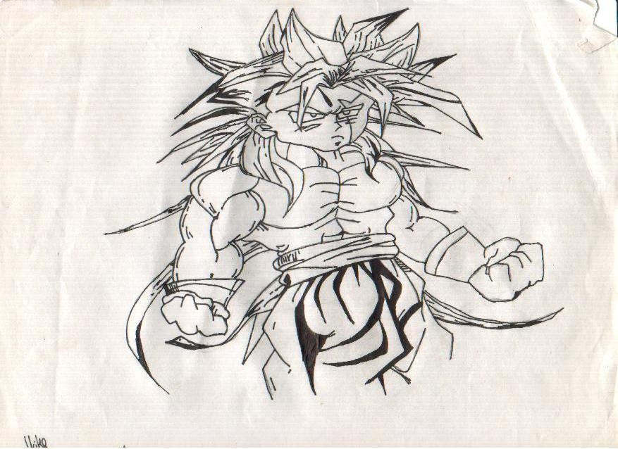 877x638 Ball Z Characters Drawings