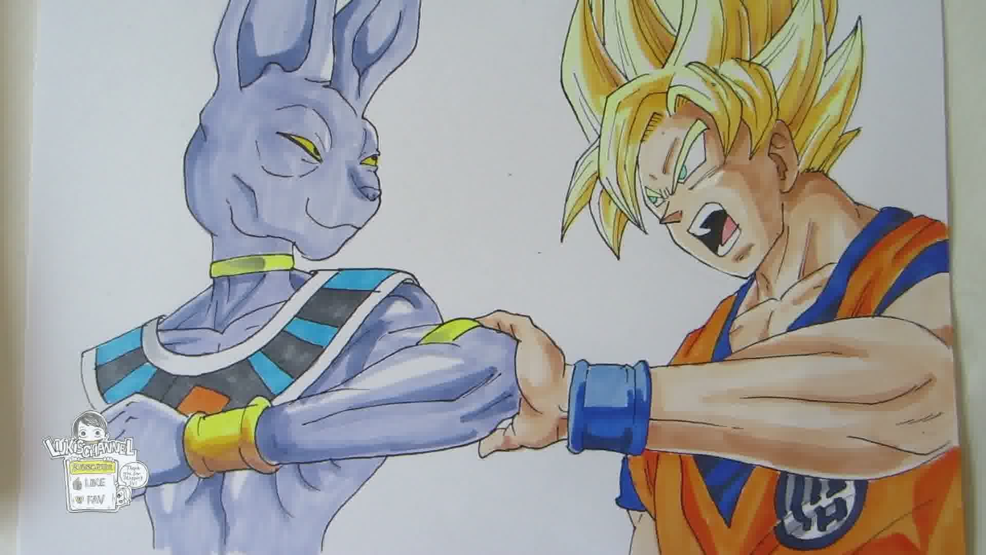 Dragon Ball Z Drawing At Getdrawings Com Free For Personal Use