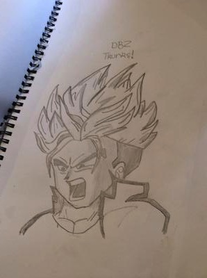 298x400 Trunks dragon ball z