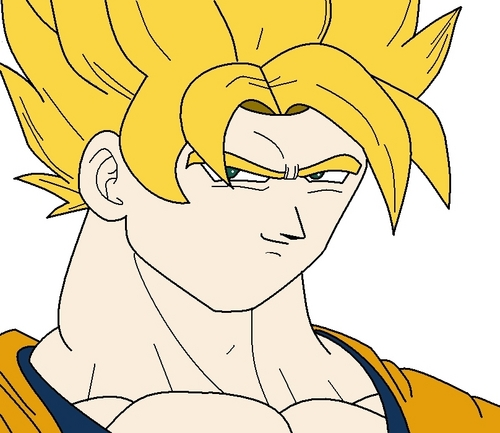 500x433 Dragon Ball Z Images How To Draw Goku Ssj In Ms Paint Step 4 Hd