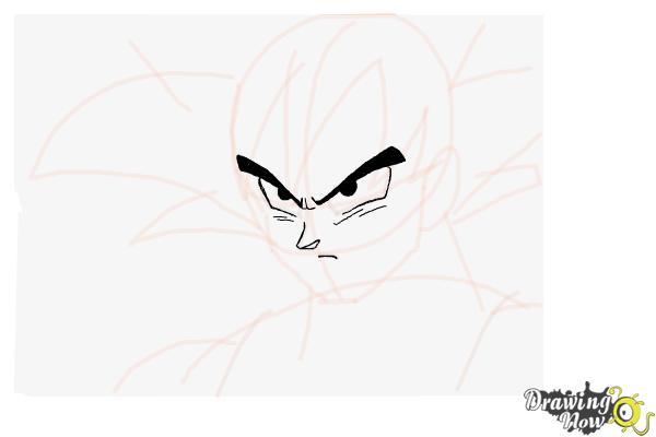 600x400 How To Draw Goku
