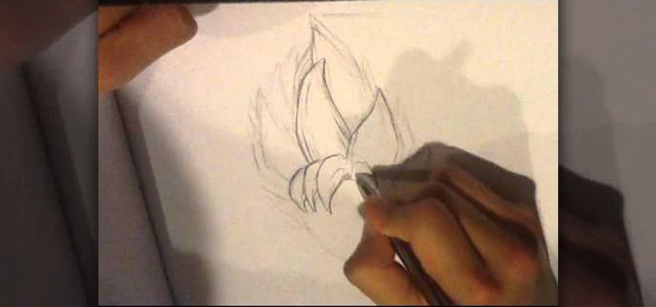 1280x600 How To Draw Dragonball Z Hair Howtodrawfantasy Wonderhowto