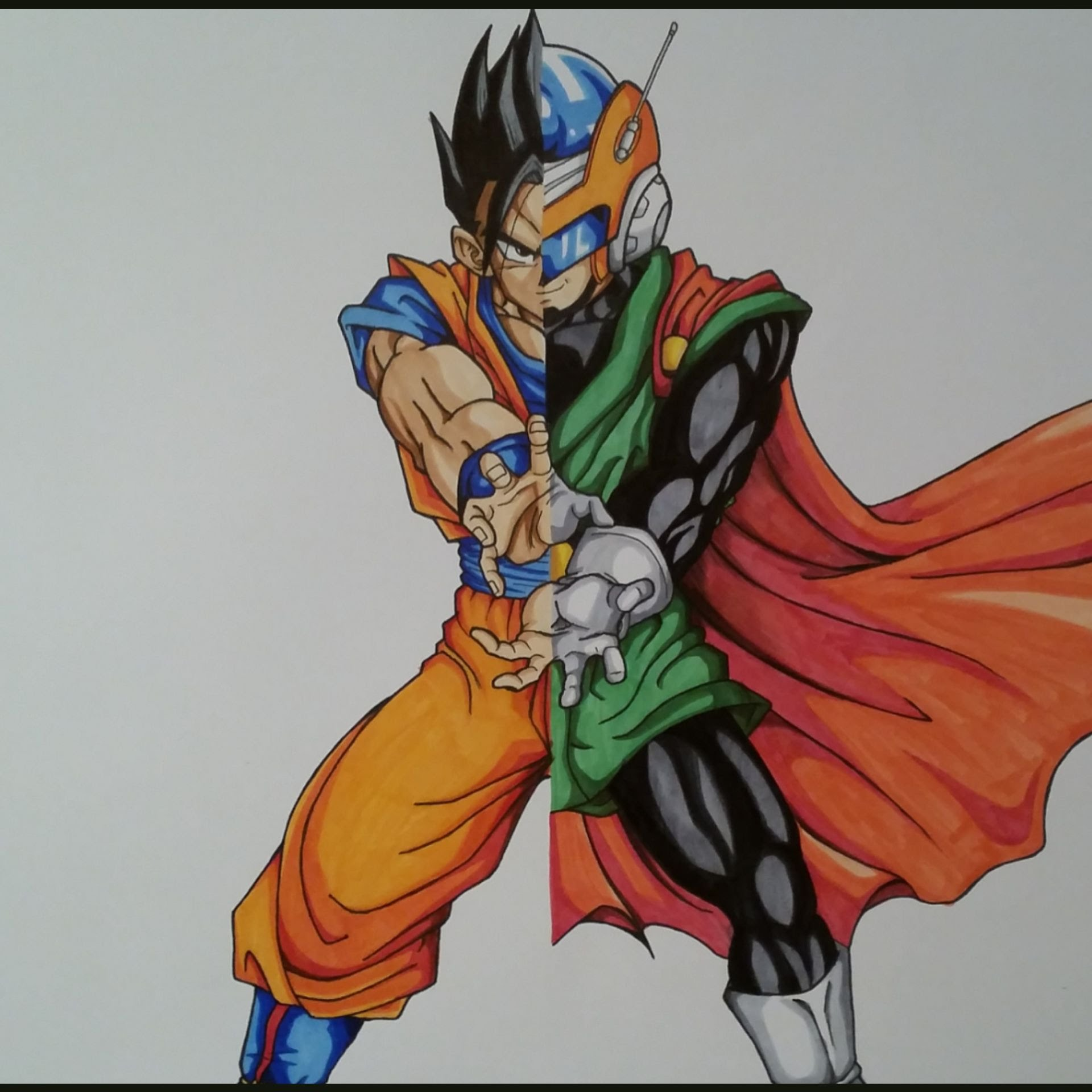 1920x1920 Drawing Gohan Saiyaman Dragon Ball Z Tolgart