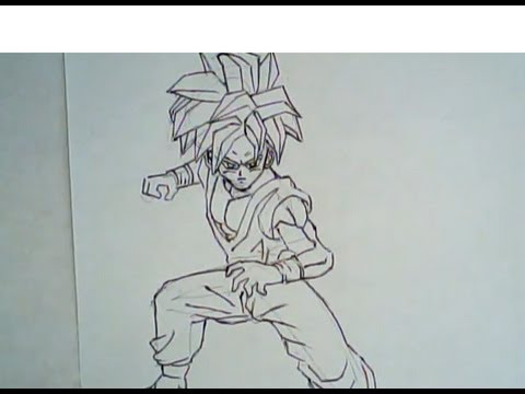 480x360 How To Draw Teen Gohan From Dragon Ball Z (Drawing Tutorial)