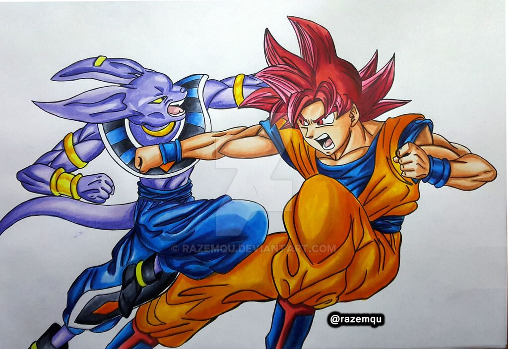 Dragon Ball Z Goku Drawing At Getdrawings Free Download