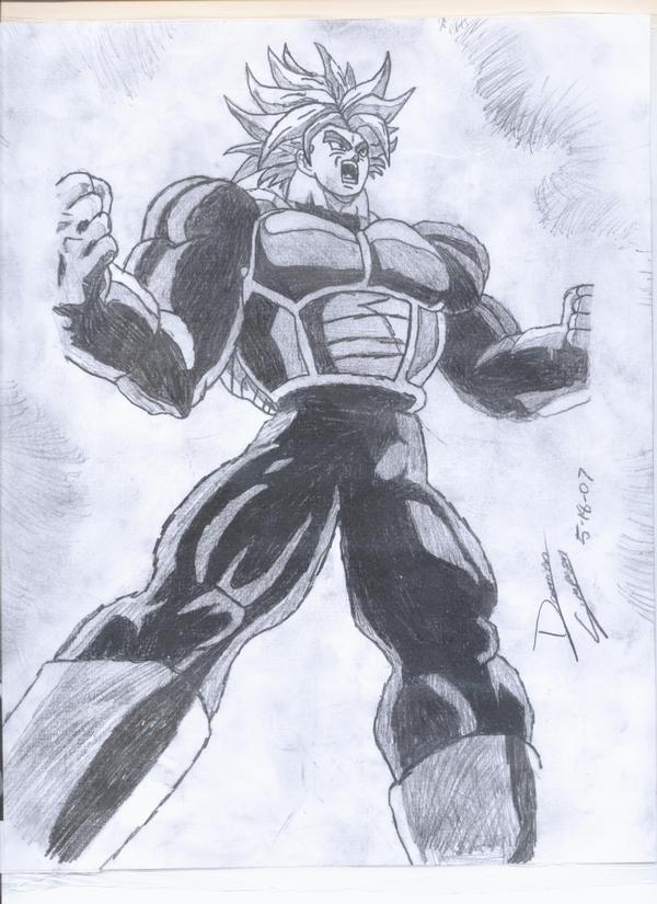 600x825 Graben Blog Dragon Ball Z Drawings