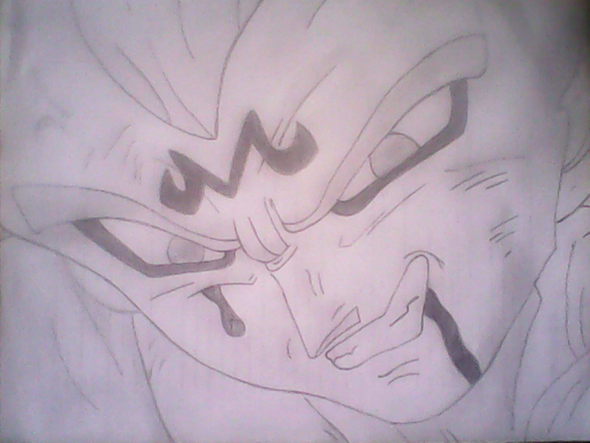 2048x1536 Dibujo De Vegeta Dragon Ball Z Majin Vegeta Dibujos