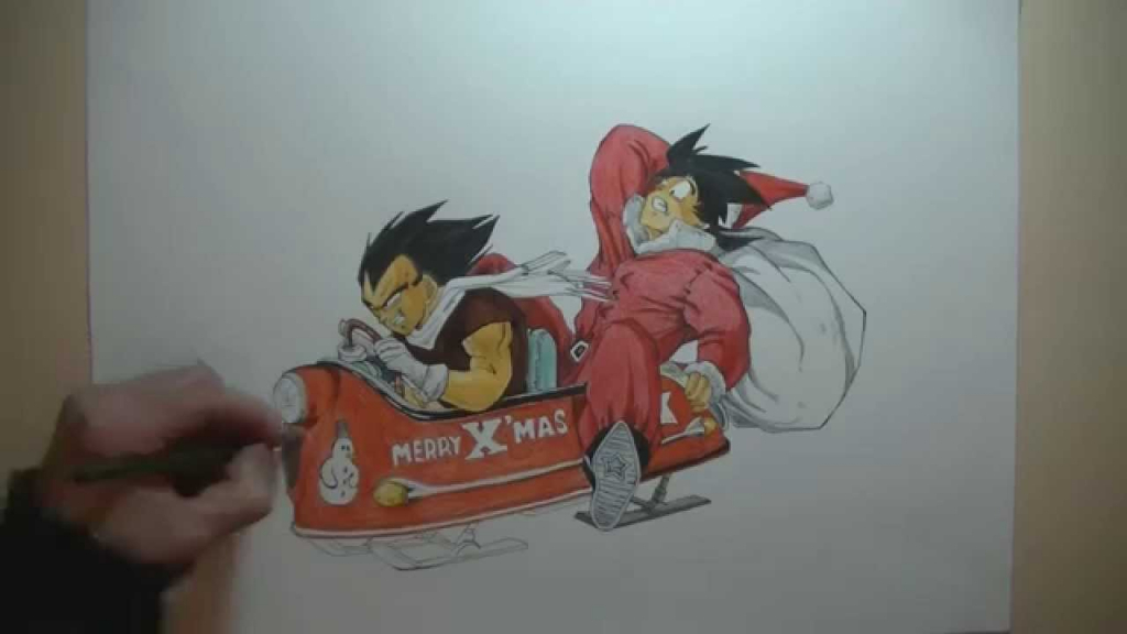 1024x576 3d Drawings Dragon Balls How To Draw 3d Majin Boo Dragon Ball Z