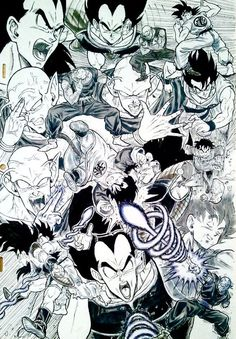 236x339 Amazing Dragon Ball Z Fanart Drawn By