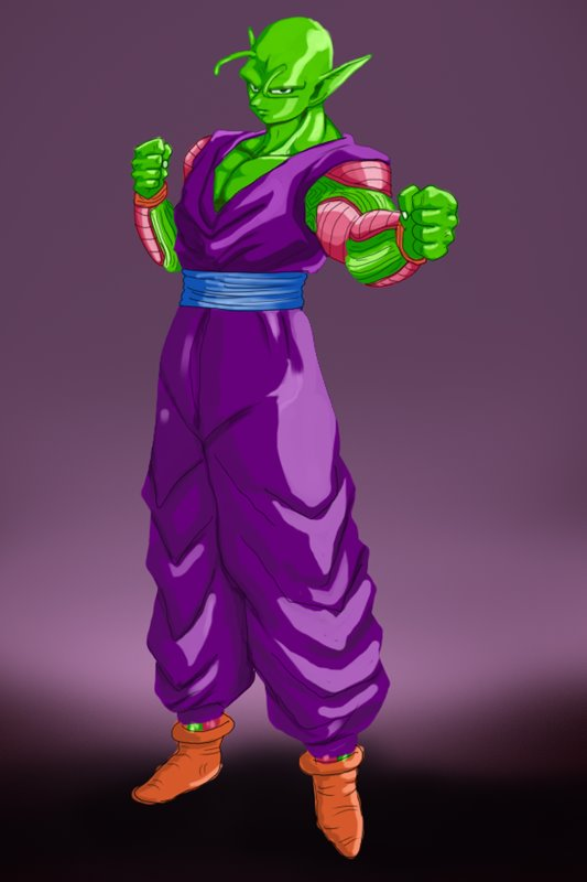 533x800 Learn How To Draw Piccolo From Dragon Ball Z (Dragon Ball Z) Step