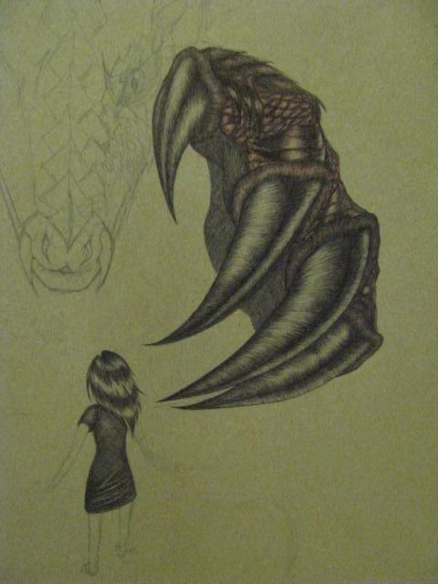 480x640 Dragon's Claw By Mysticchild