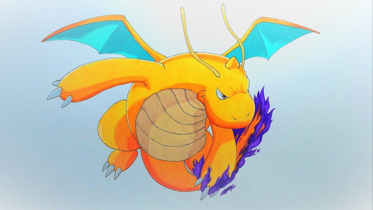 1280x720 Drawing Dragonite Dragon Claw
