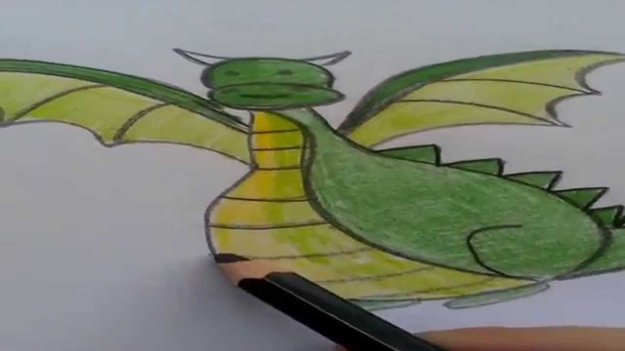 1280x720 How To Draw A Dragon Drawing Lessons For Kids