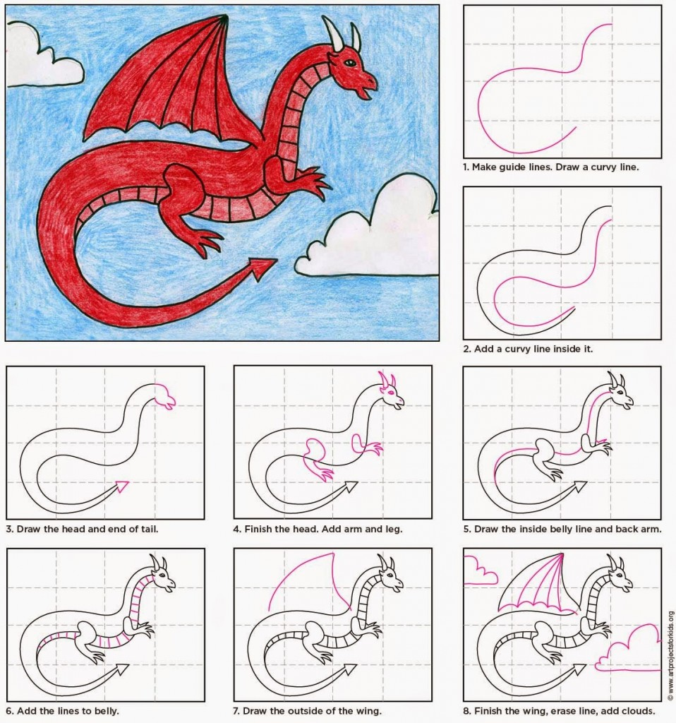 958x1024 Red Dragon Red Dragon, Dragons And Drawings