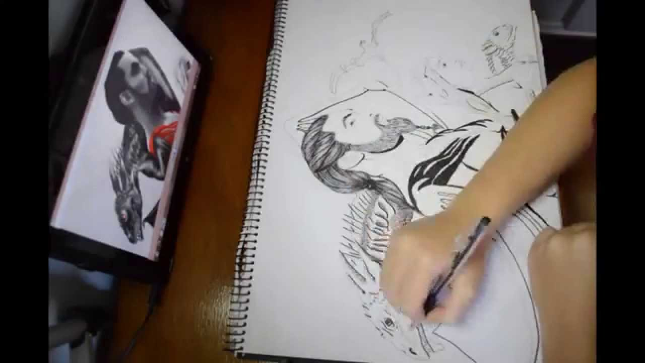 1280x720 Game Of Thrones Fantasy Speed Drawing Of Drogo Daenerys