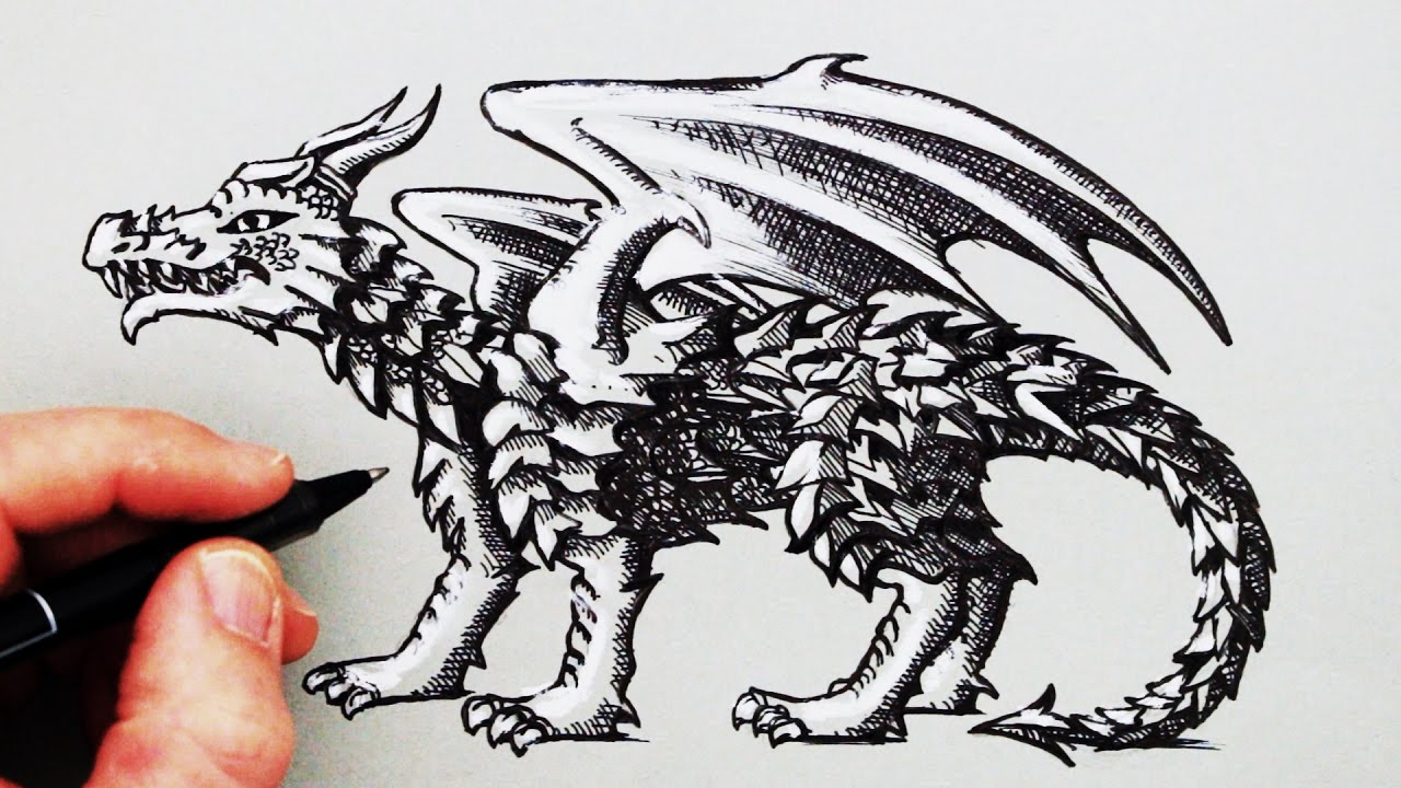 1280x720 How to Draw a Dragon
