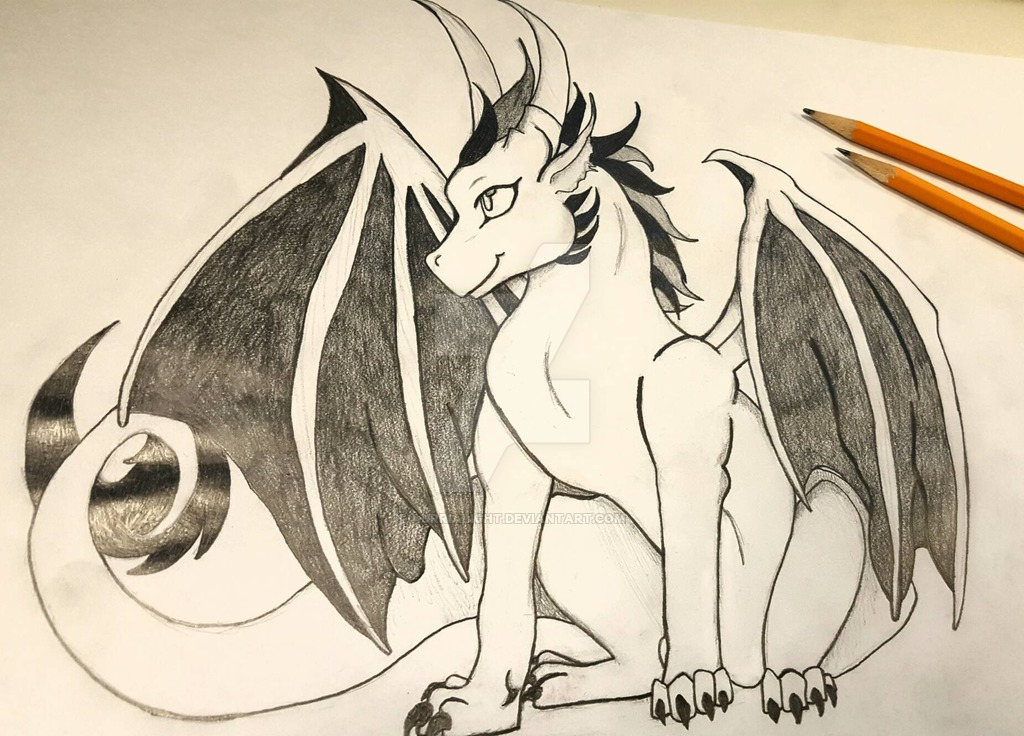1024x736 baby dragon pencil drawing by aurrialight on deviantart