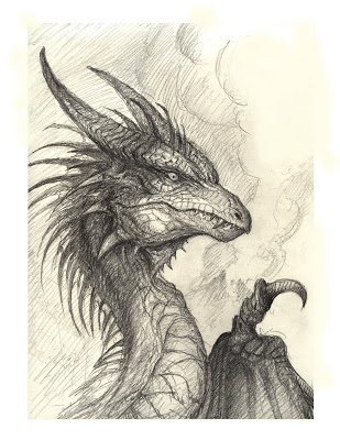 309x400 bob39s art du jour a dragon drawing