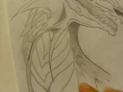 480x360 My Best Dragon Drawings (pencil and paint)
