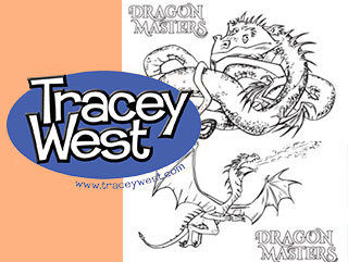 320x241 Dragon Master Coloring Pages! Tracey West
