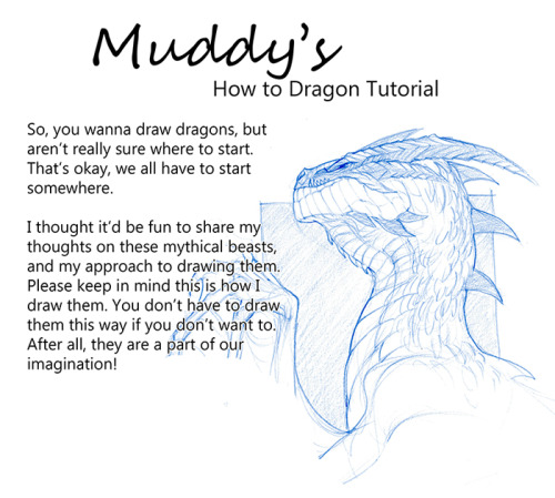 500x449 Dragon Drawing Tutorial Tumblr