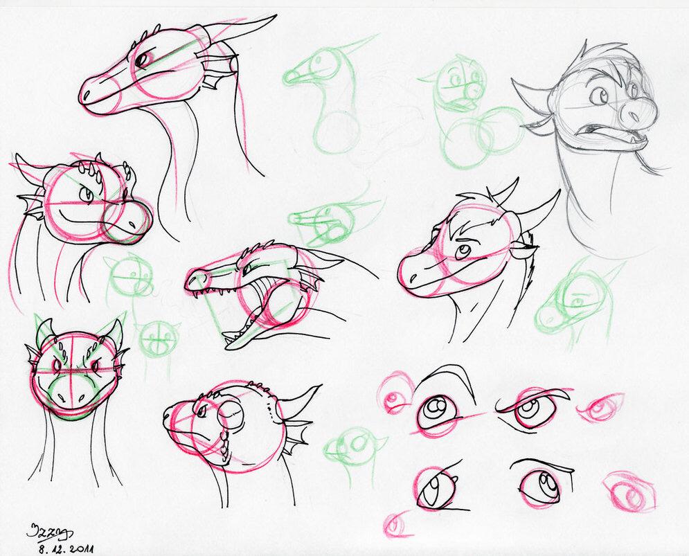 995x803 Cartoon Dragon Tutorial~ Chibi Tutorials And References