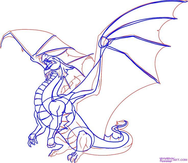736x638 Image Result For Drawing Dragons Dragons Dragons