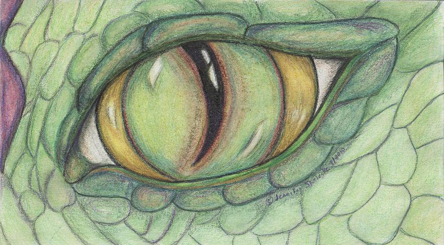 900x497 dragon eye drawing by jennifer skalecke