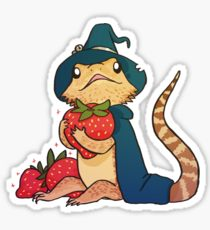 210x230 Bearded Dragon Drawing Stickers Redbubble