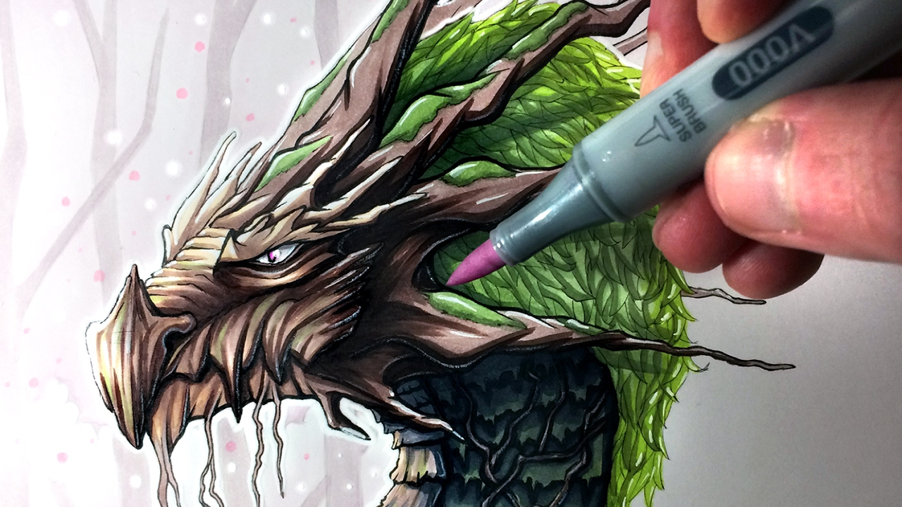 1280x720 Let's Draw An Earth Dragon