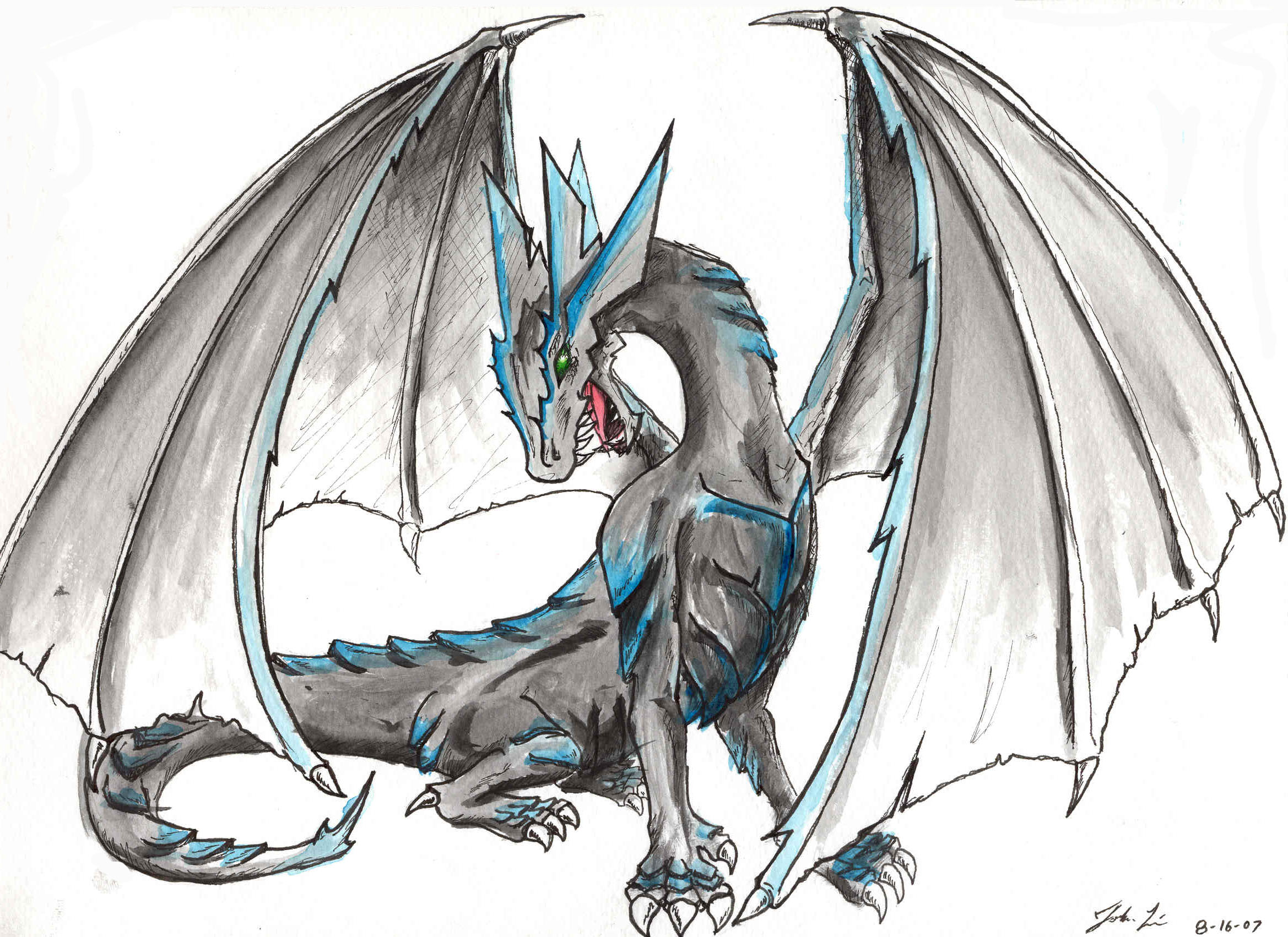 2338x1702 Rpgamer Gt Contest Results Gt Dragon Draw