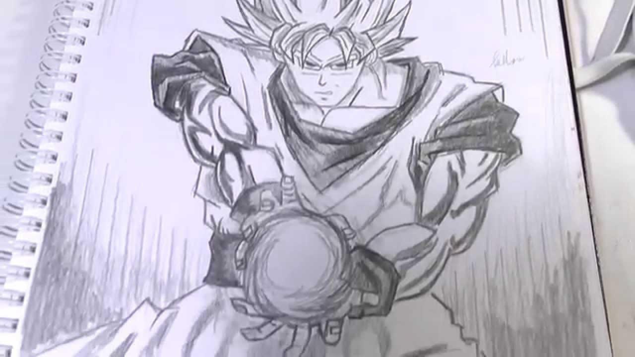 1280x720 Dragon Ball Z All Characters Cartoons Photos Sketch Drawing Photos
