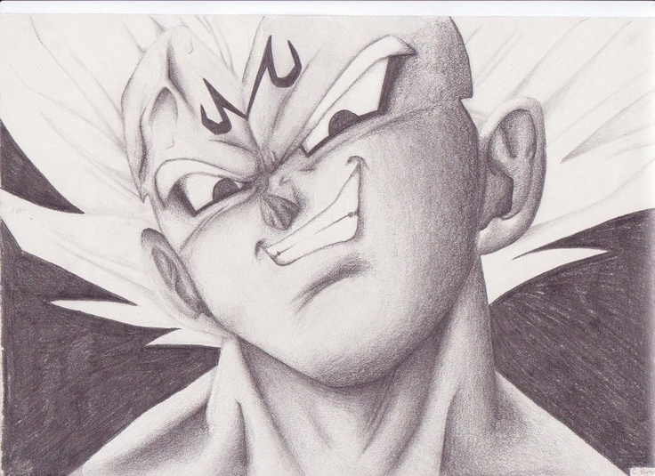 736x535 Gallery Cool Dragon Ball Z Drawing